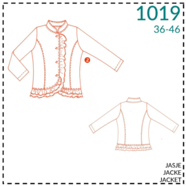 1019, jacket: 2 - little experience