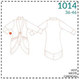 1014, Weste: 1 - einfach