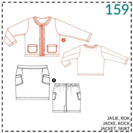 159, Jacke: 2 - etwas Näherfahrung