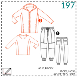 197: Jacke/Cardigan: 2 - etwas Näherfahrung
