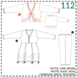 112, Weste: 1 - einfach