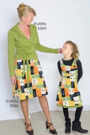 156, jurk: 1 - makkelijk / 2 - beetje ervaring