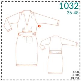 1032, dress: 1 - easy