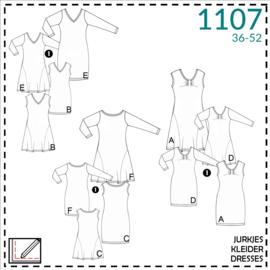 1107, jurkjes