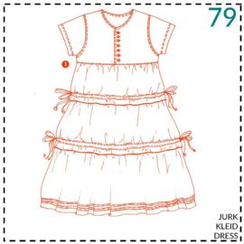 79, jurk: 1 - makkelijk