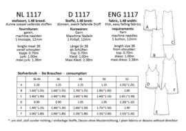 1117, jurkjes: 1 - makkelijk