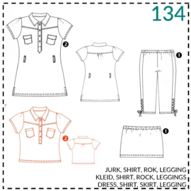 134, Shirt: 2 - etwas Näherfahrung