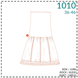 1010, rok/jurk: 2 - beetje ervaring