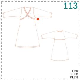 113, jurk: 1 - makkelijk