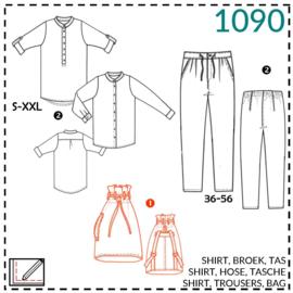1090, Tasche: 1 - einfach