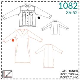 1082, Tunika: 1 - einfach