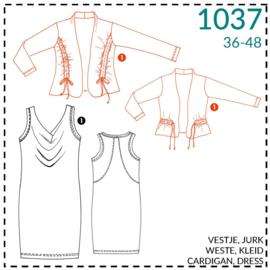 1037,  Weste: 1 - einfach