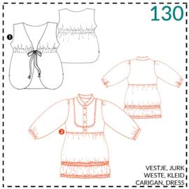 130, jurk: 2 - beetje ervaring