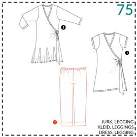 75, legging: 1 - makkelijk