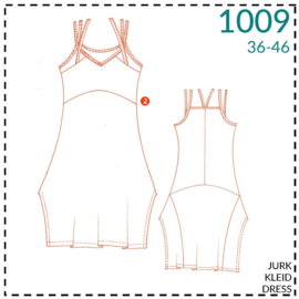 1009, dress: 2 - little experience