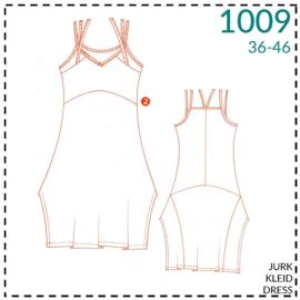 1009, jurk: 2 - beetje ervaring