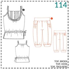 114, Hose: 1 - einfach