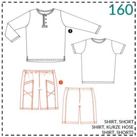 160, short: 1 - makkelijk