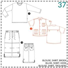37, blouse: 2 - beetje ervaring
