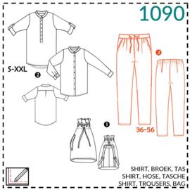 1090,  Hose: 2 - etwas Näherfahrung