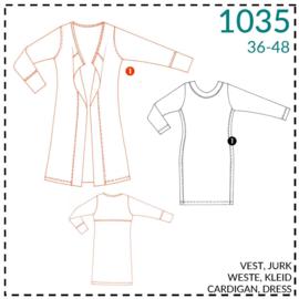 1035, Weste: 1 - einfach