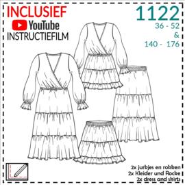 1122, jurken en rokken: 1 - makkelijk