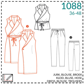 1088, jurk: 2 - beetje ervaring