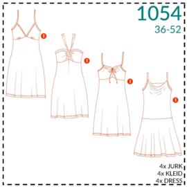 1054, Kleid: 1 - einfach