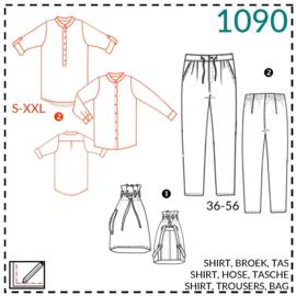 1090, blouse: 2 - beetje ervaring