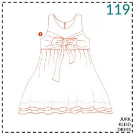 119, jurk: 1 - makkelijk