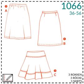 1066, Röcke: 1 - einfach