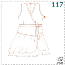 117, jurk: 2 - beetje ervaring