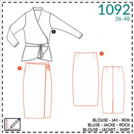 1092, skirt: 1 - easy