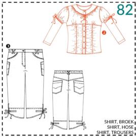 82, Shirt: 2 - etwas Näherfahrung