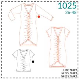 1025, jurk: 1 - makkelijk