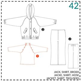 42, Shirt: 1 - einfach