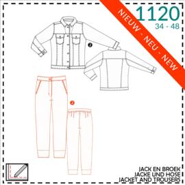 1120, Jacke und Hose: 2 - etwas Näherfahrung