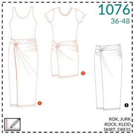 1076, jurk: 1 - makkelijk