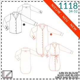 1118, jurk: 1 - makkelijk