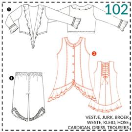 102, jurk: 2 - beetje ervaring