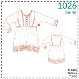 1026, Tunika: 2 - etwas Näherfahrung