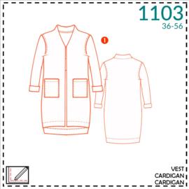 1103, Weste: 1 - einfach