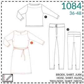 1084, jurk: 2 - beetje ervaring
