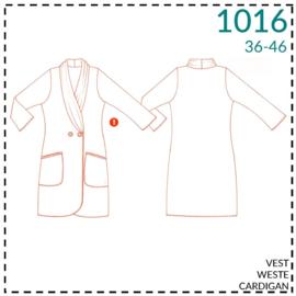 1016, Weste: 1 - einfach