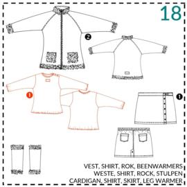 18, Shirt: 1 - einfach