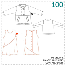 100, jurk: 2 - beetje ervaring