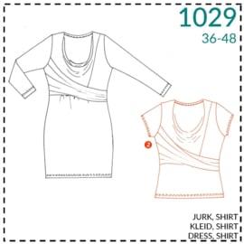1029, Shirt: 2 - etwas Näherfahrung