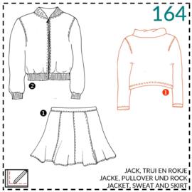 164, Pullover: 1 - einfach