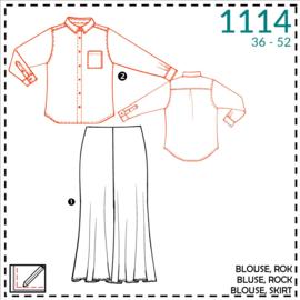 1114, blouse: 2 - beetje ervaring