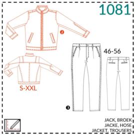 1081, Jacke: 2 - etwas Näherfahrung